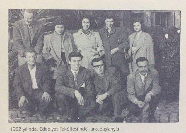 Edebiyata yatkınlığı aşikâr olan Erbil, 1950 yılında İstanbul Üniversitesi İngiliz Edebiyatı bölümünde lisans eğitimine başladı. Üniversitede geçirdiği ilk yıl sonrasında oldukça kısa sürecek olan ilk evliliğini Aytek Şay ile gerçekleştirdi.