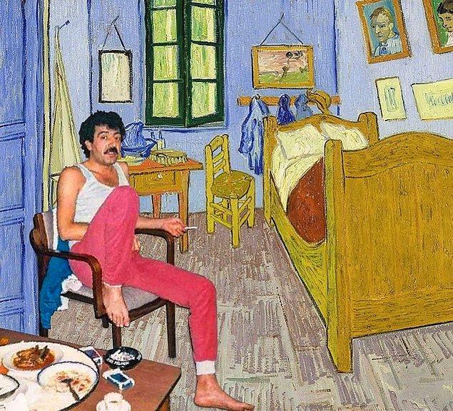 1. Lan Gogh bırak o jileti evladım.