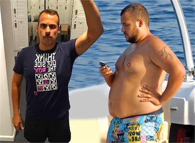 2. Ümit Erdim 140 kiloya ulaştıktan sonra önce organik kilo vermeye başladı. Ancak kilo almaya devam edince mide ameliyatı oldu ve bunun sonucunda 69 kiloya kadar düşerek herkesi şaşırttı.