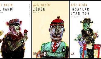 Eserleri Baskı Rekorları Kıran ve Yabancı Dillere Çevrilen Ünlü Mizah Yazarı Aziz Nesin'in En Çok Okunan Kitapları
