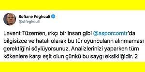 Trabzonspor Maçının Sorumluluğunu Alan Feghouli Gazeteci Levent Tüzemen'e Irkçılık Tepkisi Gösterdi