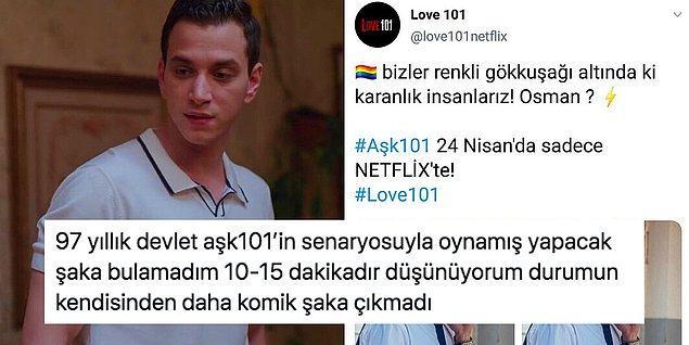 2. Aşk101 dizisinde olay yaratan Osman karakterinin eşcinsel olduğu ortaya çıktı!