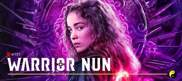 Netflix'in çizgi roman uyarlaması yeni dizisi, 'Warrior Nun' şimdiden Top 10 listesinde yerini aldı.