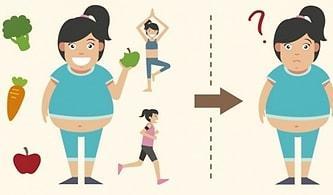 Neden Zayıflayamıyorsun? Kilo Vermeyi Neredeyse İmkansız Hale Getiren 14 Kötü Alışkanlık