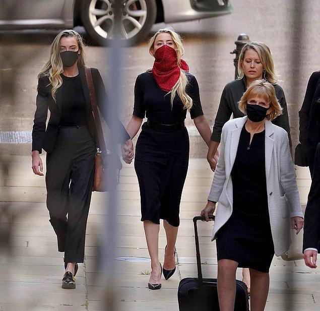 Heard ve Depp'in Londra'da mahkemeleri devam ederken, ortaya yeni ve karışık iddialar atıldı.