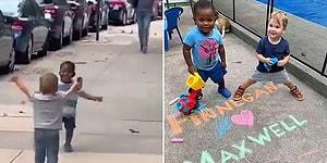 Bir Süre Ayrıldıktan Sonra Kavuşmalarıyla İçimizi Isıtan O Çocuklar, Karantina Sonrası Yeniden Buluştular