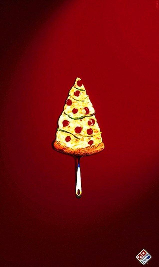 23. Domino's Pizza (noel reklamı)