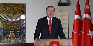 Erdoğan: '24 Temmuz Cuma Günü, Cuma Namazı İle Birlikte Ayasofya'yı İbadete Açmayı Planlıyoruz'