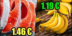 Avrupa İnsanlarının Kolayca Alıp Çatur Çutur Yedikleri Ama Ülkemizde Ateş Pahası Olan 15 Ürün