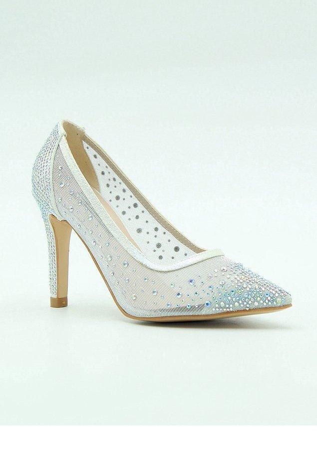 22. Sedef taşlı ayakkabılar herkesin aradığı model...
