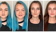 Bir Profesyonelin Ufak Dokunuşlarıyla Yapılan Makyajın Yüz İfademizi Nasıl Değiştirdiğini Gösteren 16 Karşılaştırma