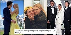 Victoria ve David Beckham Çiftinin 21 Yaşındaki Oğlu Brooklyn, Kız Arkadaşı Anna Peltz ile Evlilik Kararı Aldı; Magazin Dünyası Karıştı!
