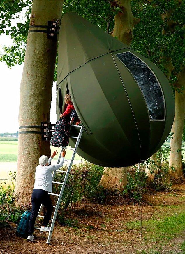 Çadırları üretmek oldukça maliyetli olduğundan bölgede çok fazla sayıda çadır yok.