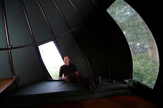Çadırlarda kalabilmek için iki kişinin gecelik 70 euro ödemesi gerekiyor.