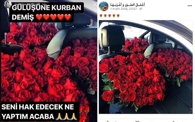 10. Aslında bu çiçek işini daha çok Murat Övüç yapar.