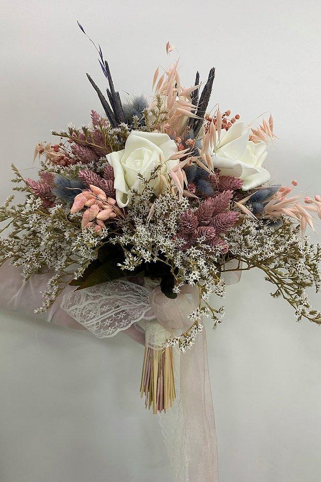 19. Siz de benim gibi soft renk hayranıysanız bunu çiçeğinizde yansıtabilirsiniz.