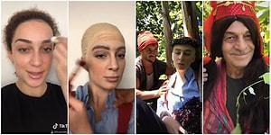 Dedesiyle Çektiği Dönüşüm Videolarıyla Fenomen Olan Tuana Tezsay'ın Keloğlan Makyajı ve Aykız Klibi