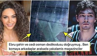 Hani Yalandı, Yine Kandırıldık! Ebru Şahin ile Cedi Osman'ın Gerçekten de Sevgili Oldukları Ortaya Çıktı