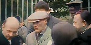 Sosyal Medyada Elden Ele Dolaşan Az Bilinen Muhteşem Atatürk Görüntüleri