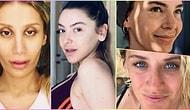 Onlar Her Haliyle Güzeller! Makyajsız Halleriyle Dikkat Çeken 25 Ünlü