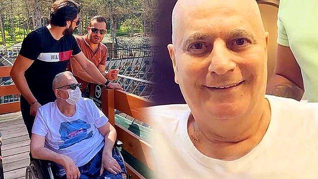 10. Hastalığı nedeniyle zor günler geçiren Mehmet Ali Erbil, kök hücre tedavisine başlamadan önce sevenleri için poz verdi!