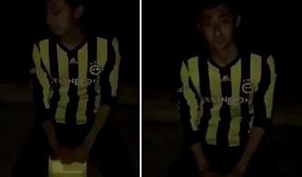 Ali Koç'a Tepki Göstererek Kendini Yakmaya Çalışan Fenerbahçe Taraftarı