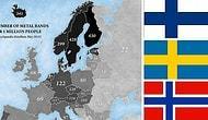 Metalin Kara Haritası: Metal Müzikte İskandinavya'nın Tartışılmaz Üstünlüğü