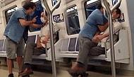 Ankara Metrosunda Şarkı Söyleyen Kişinin Boğazına Sarıldı: 'Ben Diyorsam Susacaksın'