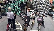 64 Adet Telefonu Bisiklete Bağlayarak Pokemon Go Oynayan 71 Yaşındaki Adam