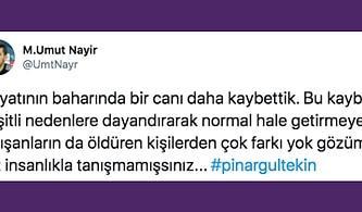 Yeter Artık! Pınar Gültekin'in Katledilmesine Spor Camiası da Sesini Yükseltti