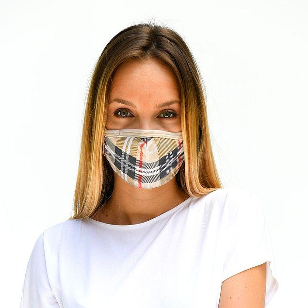 5. Belki şalınızla, belki çantanızla uydurabileceğiniz bu maskeyi herkes nereden aldığınızı soracak!