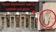 Tarihin İlk Reklam Panosunun Efes'te Yapıldığını Üstelik de Bir 'Aşk Evi'ne Ait Olduğunu Biliyor muydunuz?
