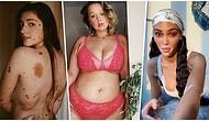 Güzellikle İlgili Tüm Tabuları Yerle Bir Eden Vücutlarıyla Barışık Eşsiz Modeller