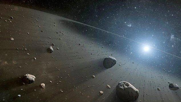 Uzay mühendislerine göre bu bazalt taş da uzay aracının üzerindeki dedektörlerin kalibrasyonunda kullanılacak.
