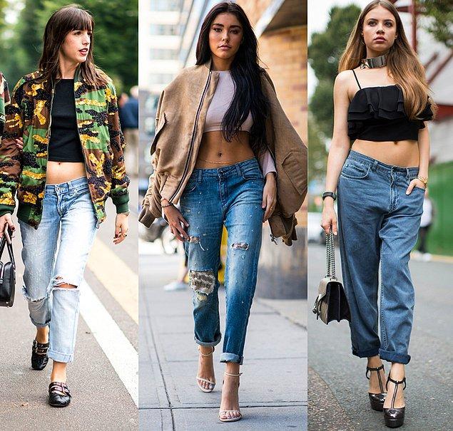 Şu an geri dönüşünden bahsedilen pantolonların neredeyse hiçbiri düşük bel değil, normal veya orta bel olarak tanımlanan kesim.
