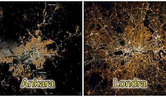 NASA'nın Uyduları Tarafından Çekilen Dünya Üzerindeki Önemli Merkezlere Ait Gece Fotoğraflarına Bayılacaksınız!