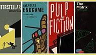 Filmler Kitap Olursa? Kült Filmleri Kitap Kapaklarına Dönüştüren Matt Stevens'ın 27 Eseri