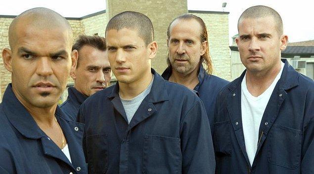 Prison Break de bir zamanlar televizyonda yayınlanmış ve bizleri ekrana kilitlemiş yabancı diziler arasında ilk sırayı almıştı.