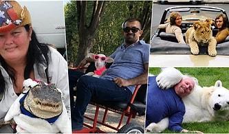 Penguenden Kuzuya Kadar Hayvanlarla Dostluğunu İleriye Taşıyarak Onlarla Adeta Kanka Olmuş İnsanlar