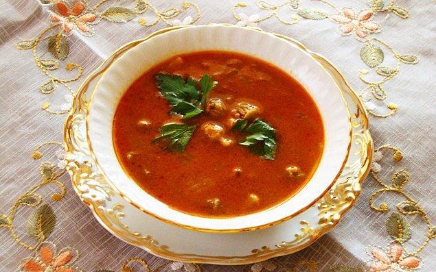 10. Bamya çorbası