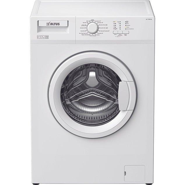 14. Benim de öğrenci evindeyken kullandığım bu çamaşır makinesi 4 yıl hiç canımı sıkmadı.