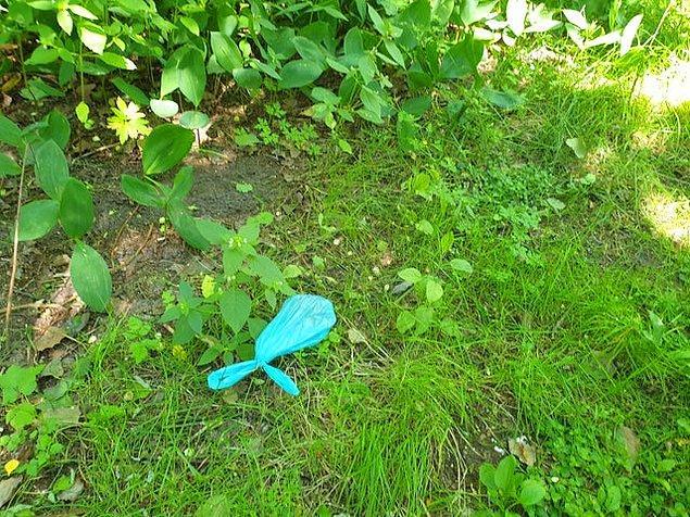 4. Çöpleri çöp kutusuna atmak bu kadar zor mu gerçekten?