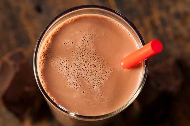Çikolatalı süt