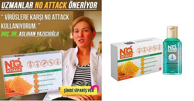 Hatırlarsanız koronavirüs ülkemizde baş gösterdikten kısa bir süre sonra 'No Attack' adında bir ilaç ortaya çıkmıştı.