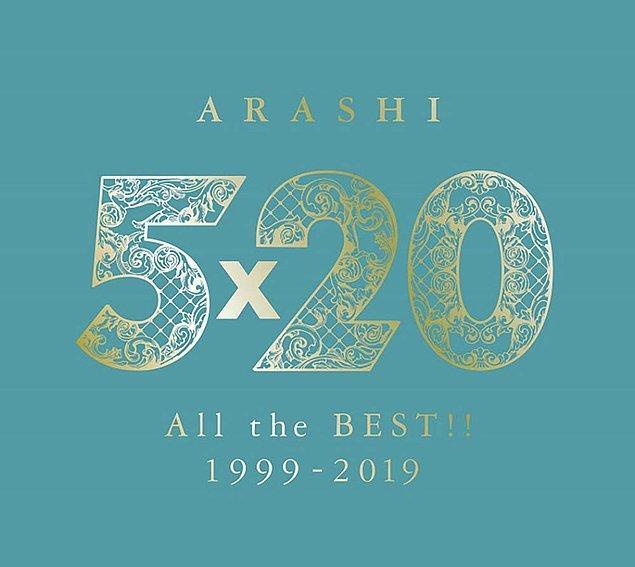 "20. 2019 - Arashi ""5x20 All the Best!! 1999–2019"""