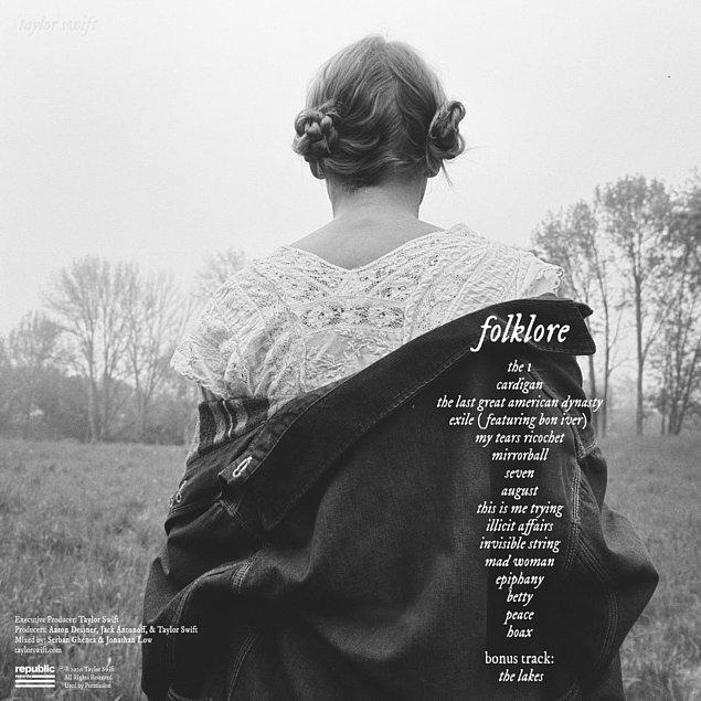 "21. 2020 - Taylor Swift ""Folklore"""