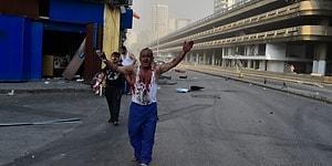 Beyrut'ta Şiddetli Patlama: Can Kaybı 60'ı, Yaralı Sayısı 3 Bini Aştı