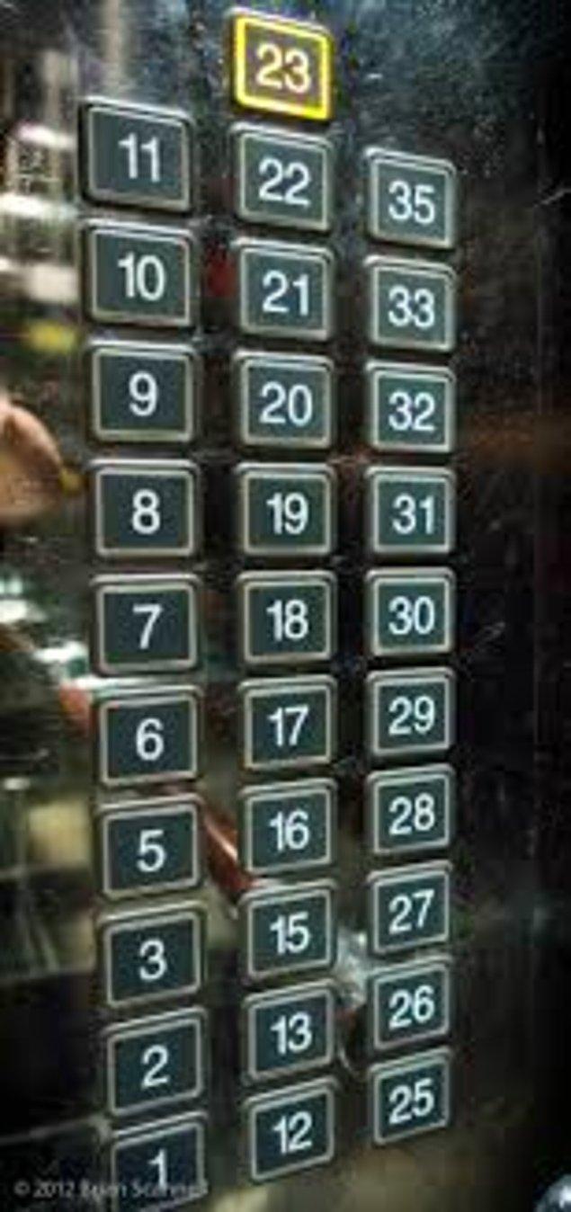 11. Çin'de 4-13-14-23-24 sayılarının uğursuzluk getirildiğine inanılıyor.