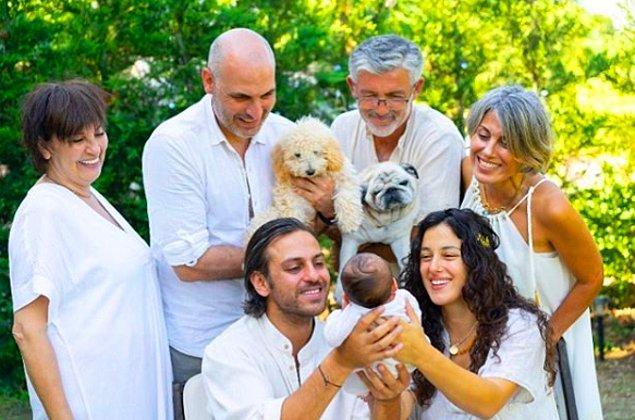Geçtiğimiz günlerde de Erkan Kolçak Köstendil ve Cansu Tosun çiftinin minik oğulları Marsel dünyaya gelmişti.