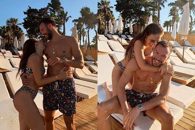 2. Çeşme'de tatil yapan Duygu Özaslan ile Can Maxim Mutaf'tan yeni aşk pozları geldi!